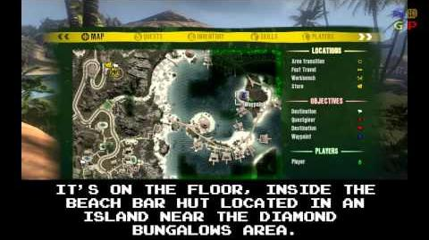 Dead Island - Id Card 08 Location