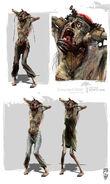 Dead Island Riptide - Screamer Concept Art
