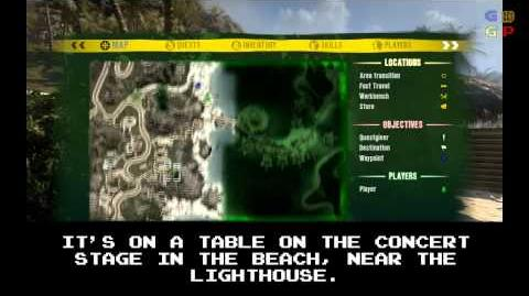 Dead Island - Id Card 06 Location