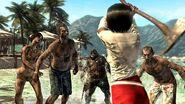 Xian Mei fights off horde