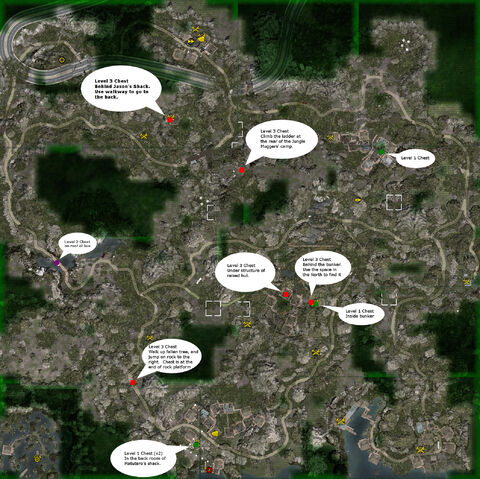 Jungle Island Survival Map for Minecraft 1.12.2/1.11.2/1.10.2