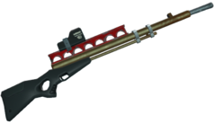 Red-dot-rifle
