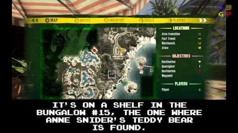 Dead Island - Id Card 21 Location