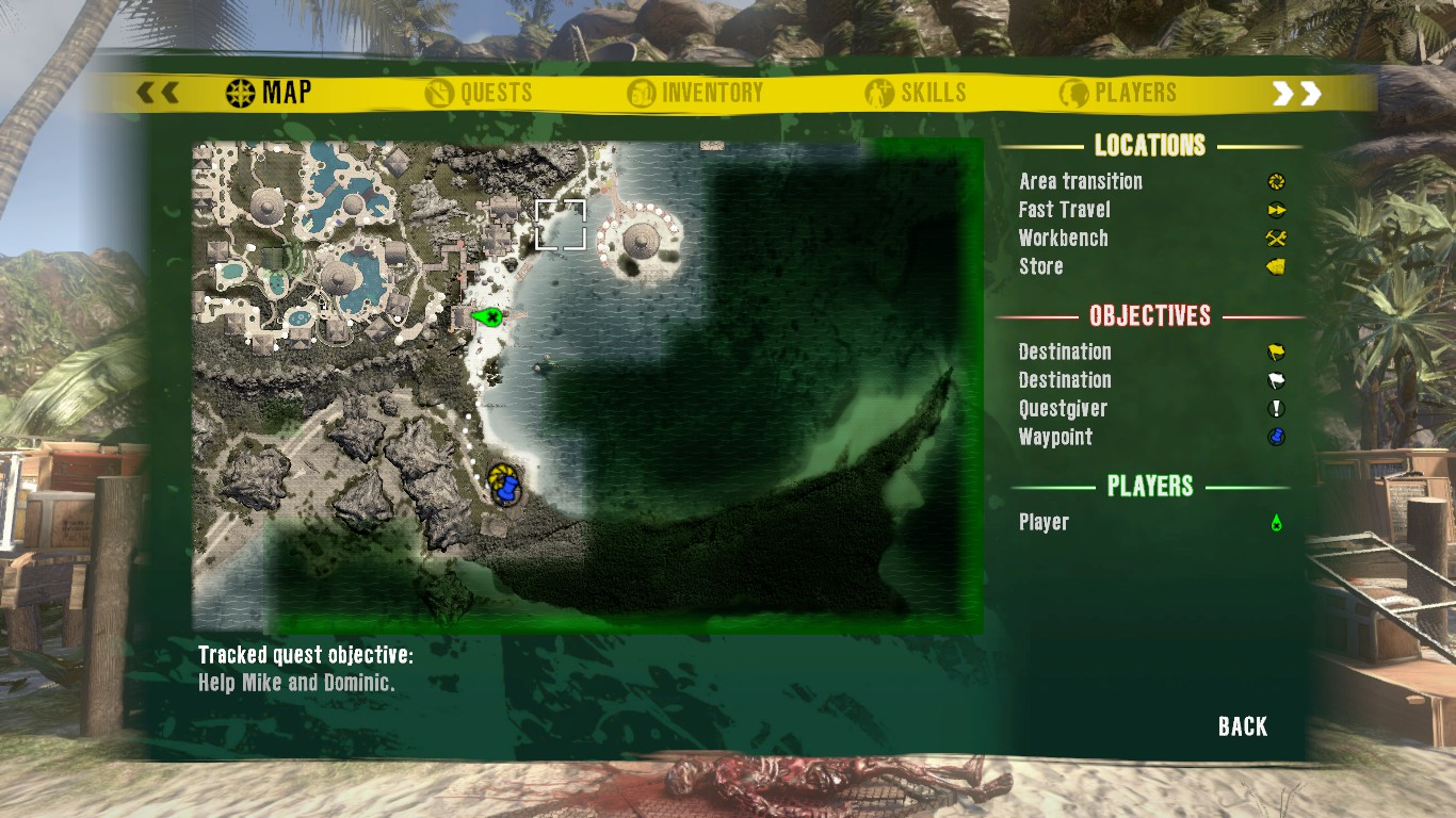New Blueprint Locations Dead Island