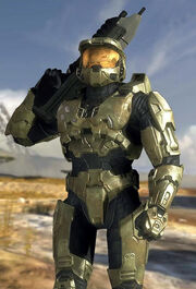 Master Chief with his MA5C