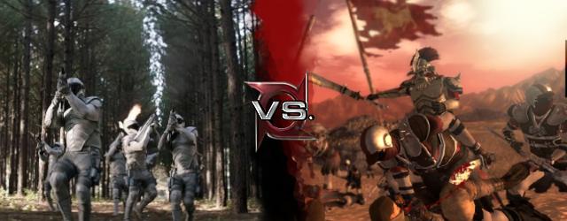 Peacekeepers vs Caesars Legion