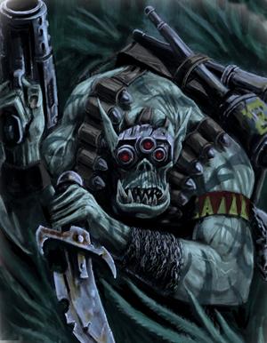 Ork Kommando