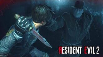 Resident Evil 2 Remake - All Mr. X Tyrant Boss Battles Compilation (Claire & Leon's Story)-0