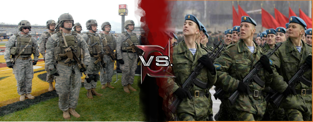 Russian airborne troops vs army ranger
