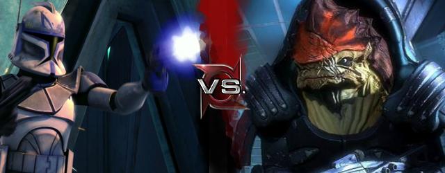 Rex VS Wrex