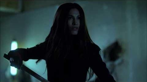 The Defenders - Elektra fights Stick-0