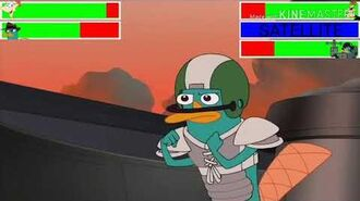 Phineas & Perry vs. Doofenshmirtz-2 & Perry with healthbars (Birthday Special)