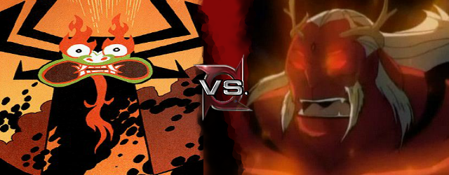 Aku vs Trigon
