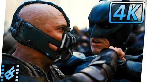 Batman vs Bane Final Fight The Dark Knight Rises (2012) Movie Clip