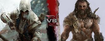 User Blog Pygmy Hippo 2 Connor Assassin S Creed Iii Vs Takkar Far Cry Primal Deadliest Fiction Wiki Fandom