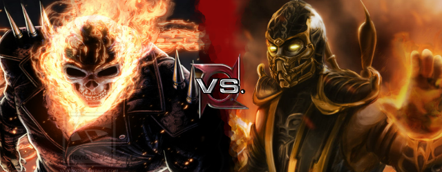 Scorpion vs Ghost Rider