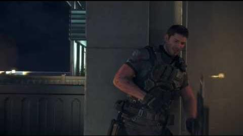 Resident Evil Vendetta (2017) Chris Redfield vs Glenn Arias full fight