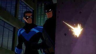 Batman & Nightwing vs. Red Hood!-1
