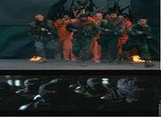 Ninja LoS and Gun LoS