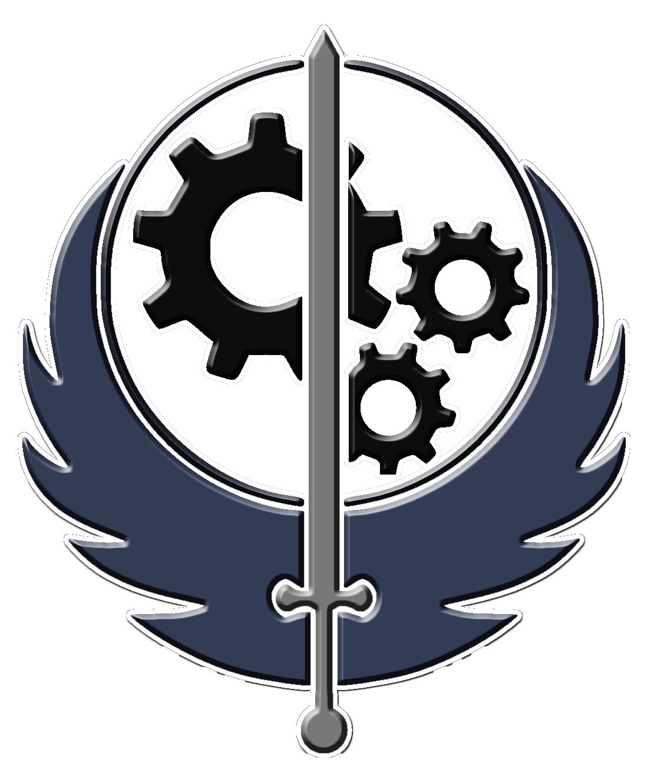 Image brotherhood of steel symbolg deadliest fiction wiki brotherhood of steel symbolg biocorpaavc Choice Image
