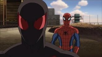 Ultimate Spider Man vs the Sinister Six Clip (Scarlet Spider first meeting with Spiderman)