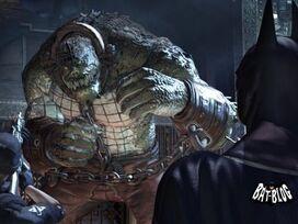 Arkham Asylum Wallpaper Killer Croc