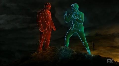 Legion S02E11 David vs Farouk