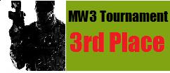 MW3 tournament winner 3rd