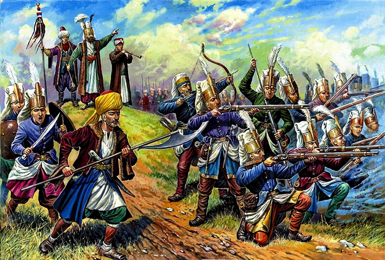 Who are the Janissaries of the Armed Forces of the Ottoman Empire 84