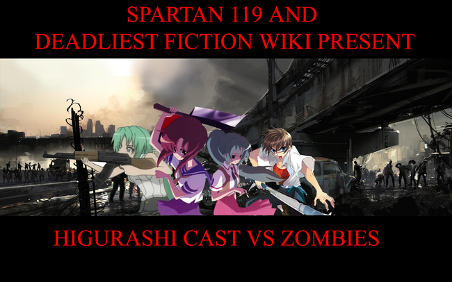 Higurashi vs zombies