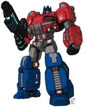 Optimus Prime Fall of Cybertron