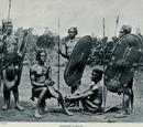 Zande warriors