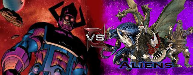 Galactus vs Aliens