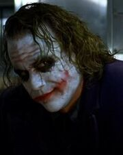 The Joker after his magic trick