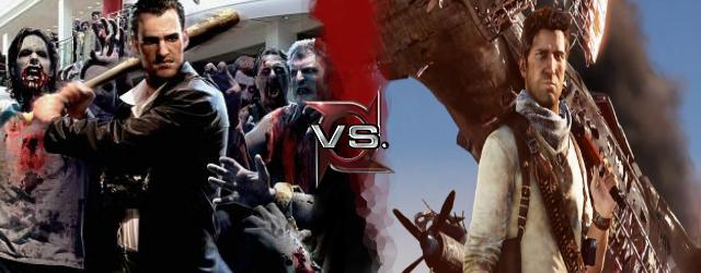 Frank West vs Nathan Drake