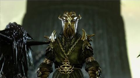 Skyrim - Miraak FIGHT (LEGENDARY)