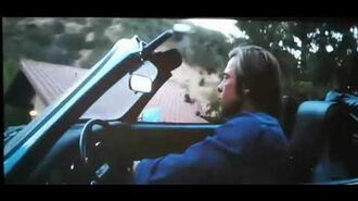 Cliff Booth's driving