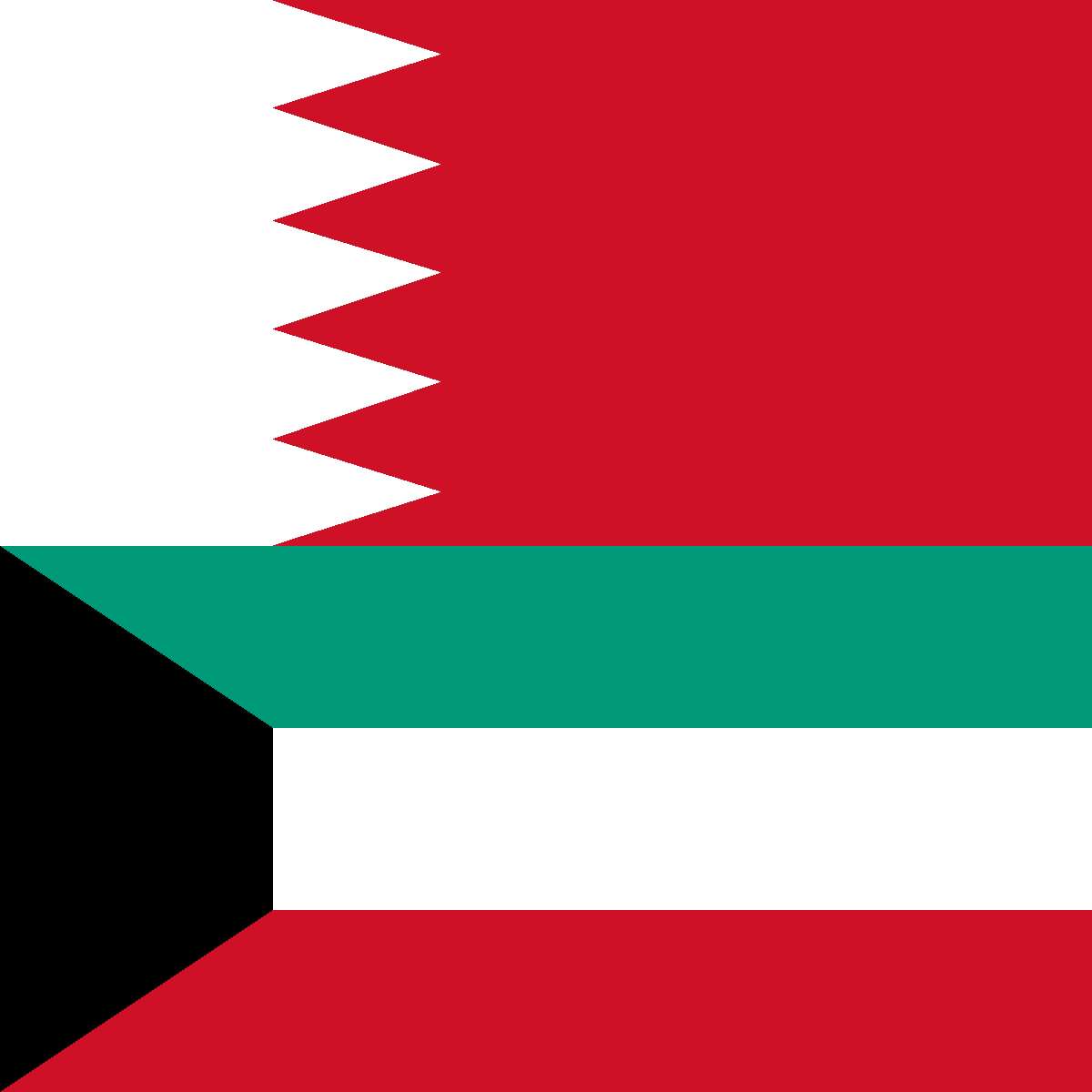 Image Flags Of Bahrain And Kuwaitpng Deadliest Fiction Wiki - Bahrain flags