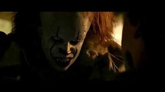 PennyWise Horror Scenes In Well House IT (2017)