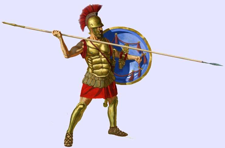 PREVIEW] Hoplite shield patterns - Aspis