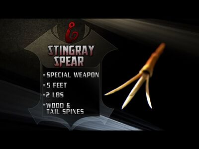 Stingray spear