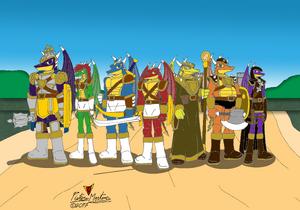 Drakkhen Treasure Hunters