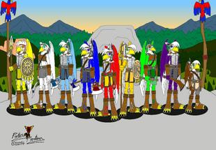Sacred Eagle Feathers