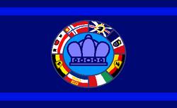 The flag of Planet Ligo