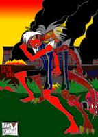Rico Reptile the Devil Dinosaur