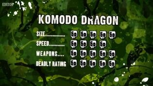 S3 DR komodo dragon