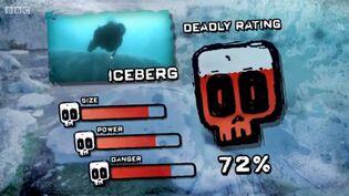 PTP DR iceberg