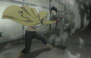 Karako attacks Ganta