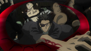 Senji kills Mozuri and Shinagawa anime
