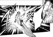 Kazumasa throwing knife